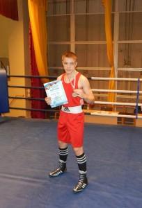 Бронзовый призер ЦФО Глеб Сергеев